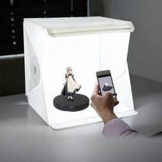 Imagem de Led dobrável foto fundo caixa de luz softbox com lâmpada de fotografia para estúdio de fotografia