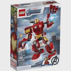 Imagem de 76140 Lego Super Heroes Vingadores - Robô Iron Man