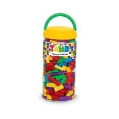 Imagem de Balde De Blocos De Montar Com 300 Peças Brinquedo Toyster