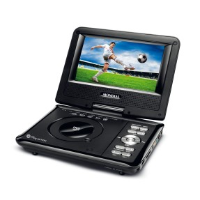 "DVD Player Portátil Tela 7"" Play Action D-08 Mondial"