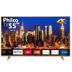 "Smart TV LED 55"" Philco 4K PTV55F61SNC 3 HDMI"