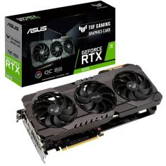 Imagem de Placa de Video NVIDIA GeForce RTX 3070 8 GB GDDR6 256 Bits Asus TUF-RTX3070-O8G-GAMING