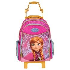 Mochila com Rodinhas Escolar Dermiwil Disney Frozen Anna 37102