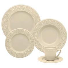Imagem de Aparelho de Jantar e Chá Oxford - Daily Mendi Marfim – 20 Peças