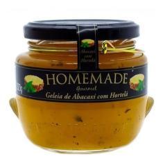 Imagem de Geleia Gourmet Abacaxi C/ Hortelã 320g - Homemade