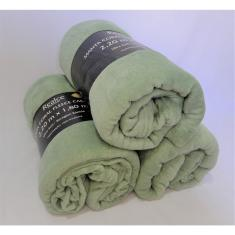 Imagem de Manta Cobertor Frio Casal Microfibra 200g/m² Sultan 2,20mx1,80m Verde