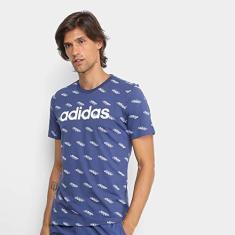 Imagem de Camiseta masculina Algodão Adidas M fav tee Tamanho:M;Cor: