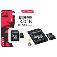 Cartão de Memória Micro SDHC com Adaptador Kingston Canvas Select 32 GB SDCS/32GB