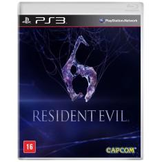 Jogo Resident Evil 6 PlayStation 3 Capcom