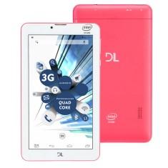 """Tablet DL Eletrônicos TabPhone 710 8GB 3G 7"""" Android 5.0 (Lollipop)"""