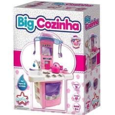 Imagem de Cozinha Infantil Big Cozinha Fogão - Big Star 630