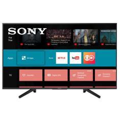 "Smart TV LED 49"" Sony 4K KD-49X705F 3 HDMI"