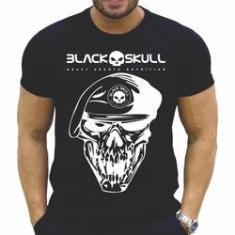Imagem de Camiseta Black Skull Academia