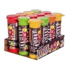 Imagem de Kit 12 Tubos M&Ms Confete Chocolate ao Leite 30g