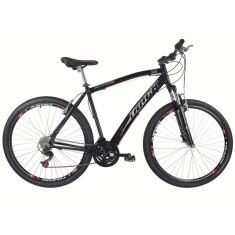 Bicicleta Track & Bikes 21 Marchas Aro 29 Suspensão Dianteira Freio V-Brake Black 29