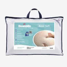 Imagem de Travesseiro 100% Látex Natural Basic Soft 50X70Cm Dunlopillo