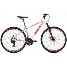 Bicicleta Mountain Bike GTS 27 Marchas Aro 29 Suspensão Dianteira Feel