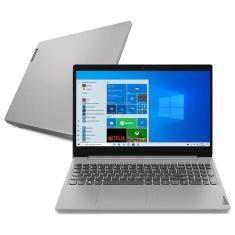 """Notebook Lenovo IdeaPad 3i 82BS0001BR Intel Core i5 10210U 15,6"""" 8GB SSD 256 GB GeForce MX330"""
