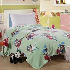 Imagem de Cobertor Microfibra Efeito Especial 250gr Infantil Solteiro Ted Happy Day - Sultan
