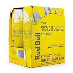 Imagem de Pack 4un Energético Red Bull Tropical Edition 250ml