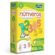 Imagem de Conjunto de Quebra-Cabeças Educativos - Descobrindo os Números - Toyster