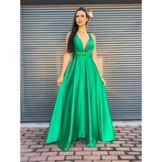 Imagem de Vestido Longo de Festa Princesa