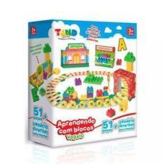 Imagem de Tand Kids Aprendendo Com Os Blocos Vogais 51 Peças - Toyster