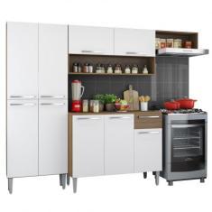 Cozinha Completa 9 Portas 1 Gaveta Emilly Madesa