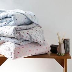 Imagem de Cobertor King Fleece Confete - Casa & Conforto