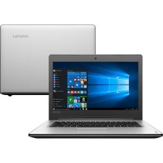 "Notebook Lenovo IdeaPad 300 Intel Core i3 6006U 6ª Geração 4GB de RAM HD 1 TB 14"" Windows 10 310"