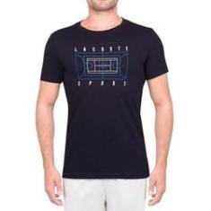 Imagem de Camiseta Lacoste Tennis Training TH3497 Marinho
