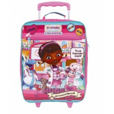 Imagem de Mochila com Rodinhas Escolar Dermiwil Disney Doutora Brinquedos G Plus 30172