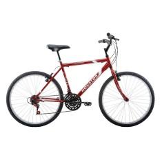 Bicicleta Houston 21 Marchas Aro 26 Freio V-Brake Foxer Hammer