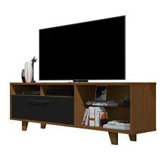 Imagem de Rack Bancada para TV até 72 Polegadas 5054 Caramelo com  - JB Bechara