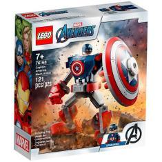 Imagem de LEGO Super Heroes Marvel - Armadura Robô do Capitão América - 76168