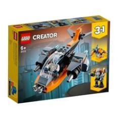 Imagem de Lego Creator 3x1 Cyber Drone 31111