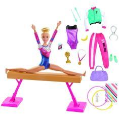 Imagem de Boneca Barbie Ginasta GJM72 Mattel
