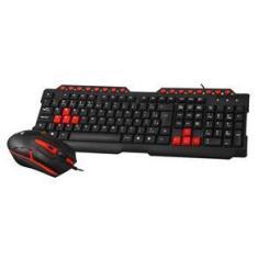 Imagem de Teclado e Mouse C3TECH GK20BK Gamer com Fio ABNT2 USB