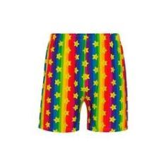 Imagem de Samba Canção Lupo Urban Mario Bros Rainbow 16964-002