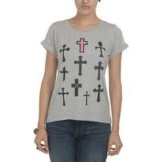 Imagem de Camiseta Vi & Co Várias Cruzes