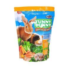 Imagem de Ração Para Roedores Delícias Da Horta Funny Bunny Supra 500g