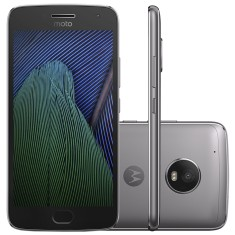 Smartphone Motorola Moto G G5 Plus XT1683 TV Digital 32GB Qualcomm Snapdragon 625 12,0 MP 2 Chips Android 7.0 (Nougat) 3G 4G Wi-Fi