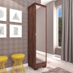 Imagem de Sapateira MGM Lia com 3 Espelhos - Café