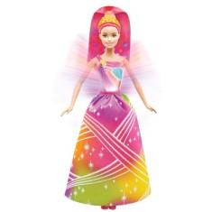 Imagem de Boneca Barbie Princesas Luzes Arco-Íris Mattel