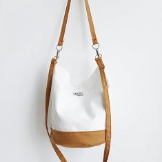 Imagem de Saco de Moda de Nova Bolsa Feminino Shoulder Bag Literary vento Pano Bucket Bag