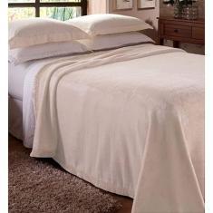Imagem de Cobertor Solteiro 1,50m x 2,20m liso Raschel Jolitex