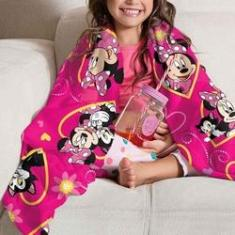 Imagem de Manta Fleece Sofá Infantil Minnie Lepper