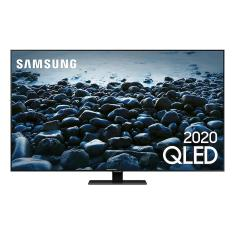 "Smart TV QLED 75"" Samsung 4K HDR QN75Q80TAGXZD 4 HDMI"