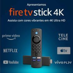 Fire TV Stick Amazon 4K 8 GB 4K HDMI Alexa