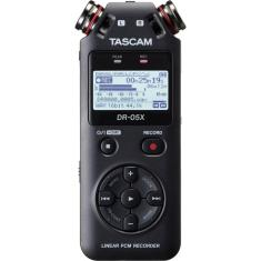 Imagem de Gravador Digital De Audio Voz Tascam Dr-05X Profissional